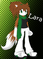 Lara The Fox - New Style by Bubbleslou