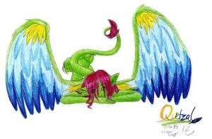 lazy lounger Quetzal by Keysey
