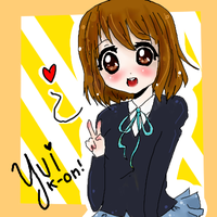 K-On: Yui chan by sweetnesskingdom