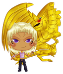 Marik and Mega Ultra Chicken by RingoYan