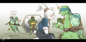 TMNT fan work 19 by Rcaptain
