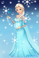 Frozen: Elsa by Cobexs