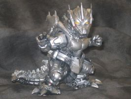 West Kenji SD Mechagodzilla 2004 Model by Legrandzilla
