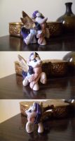 MLP: FiM 'steam' Rarity blind bag repaint/mod by elfy016