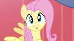 Fluttershy Being Cute (cuteness) by DaMessedUpGirl777