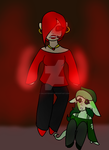 If you hurt her again, I will BURN YOU ALIVE. by galaxyghosts