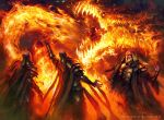 MTG Stoke the Flames PROMO by guterrez