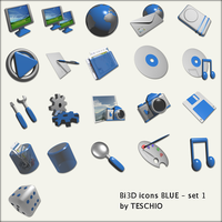 Bi3D icons by teschio