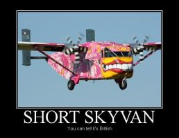 Short Skyvan Demotivational by Denodon