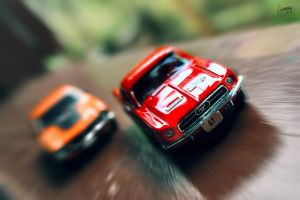 Ford Maverick Vs Mustang by Evannrpg