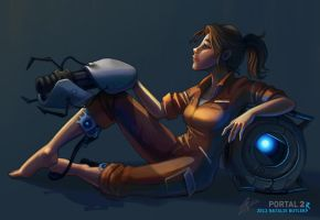 Portal Anyone? by Wingedmaquis