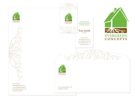 Evergreen Concepts Stationery Package by Lish-55