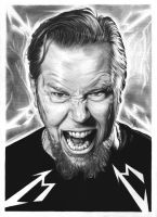 James Hetfield by eir-wiscium