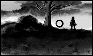 Tire Swing by Skull-Ink