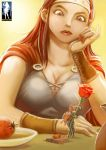 Tiny Knight, Big Heart - The Green Goddess Inn 4 by giantess-fan-comics