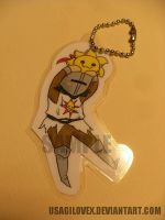 Chibi Solaire Keychain~ by UsagiLovex