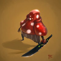 Shroom Guard by Blindconcept