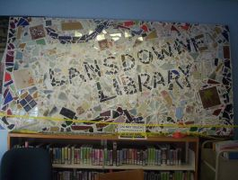 A Mosaic for the Library by Brina1989