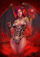 Mina the Succubus by MonoriRogue