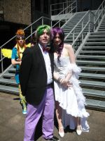 Rarity and Spike Cosplay by Azalais