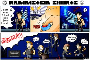 Rammstein shorts 1 by TheInsaneDarkOne