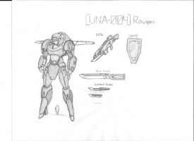 UNA-004 Raven by Linkinpark30101