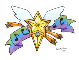 Sailor Starlights Tattoo Design by sakkysa