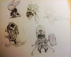 BunnyKill Characters by ThaBrokenSword