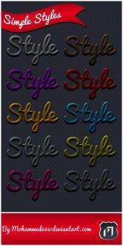 Simple Styles by mohammed6651