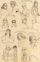 Sketchdump of Thrones by poly-m