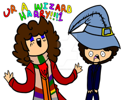 UR A WIZARD, HARRY! by ThetaSigmaIV