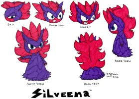 Silveena Character Sheet by trinityweiss