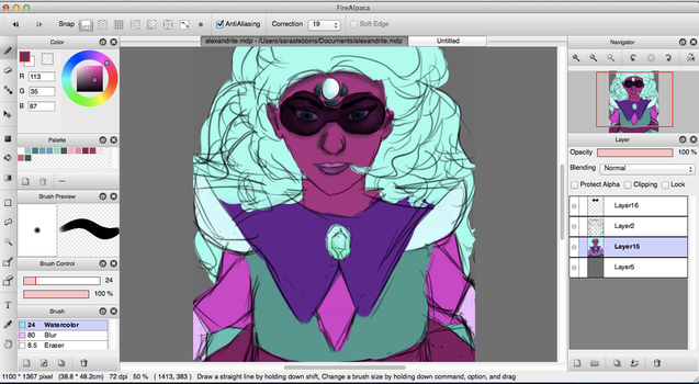 wip thing by messymouse