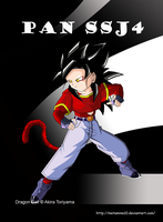 Pan ssj4 DBER by Metamine10