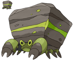 Pokemon 5G Shiny Crustle