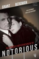 Notorious (1946) fan poster by crqsf