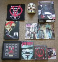 My V For Vendetta Collection by WLIIAmg