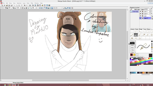 Art-Trade Thing - Danisnotonfire - WIP by ZombieNapalm