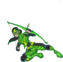 DC Revolt: The Green Arrow by FrischDVH