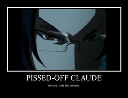 Pissed-Off Claude by madiboo