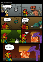 Metroid - Weird evolution by Neko343