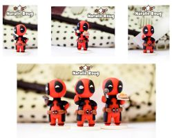 Deadpool (handmade figurines) by NatalieRoug
