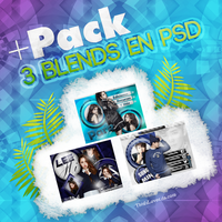 +PACK 3 Blends.PSD by ThisIsLovee