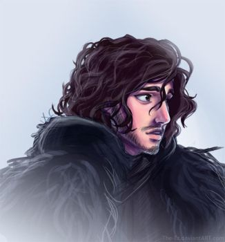 Jon Snow is Sad by The-Ez