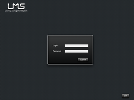 LMS GUI Login by hammadmalik