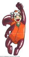 Bolin with Pabu Kigurumi by IndyScribbable