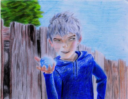 Jack Frost and 1/2 of Frosty the Snowman Jr. by BrainlessGenie