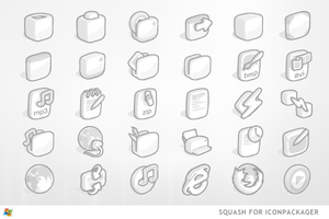Squash For IconPackager by ipholio