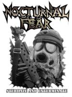 Nocturnal Fear Shirt Art by hellcitychris