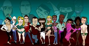 Big Brother Cartoons: BBUK 6 by dtdstudio